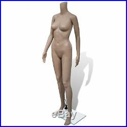 VidaXL Mannequin Women with Stand Adult Female Full Size Headless Store Display