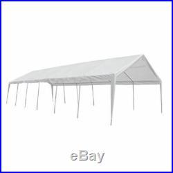 VidaXL Outdoor Party Tent Steel 20x40 White Wedding Removable Walls Gazebo