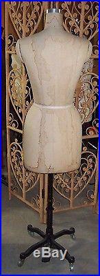 Vintage (1982) Wolf Mannequin/Dress Form Size 8