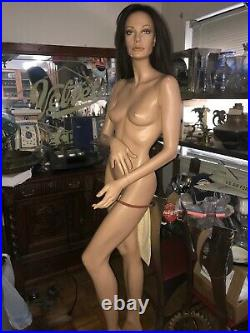 Vintage 1992 Patina V Full Size Realistic Mannequin Beth 6' Tall Beautiful