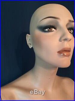 Vintage Adel Rootstein Female Mannequin BB11 Roxanna From Bar Belles