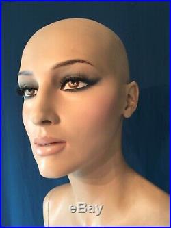 Vintage Adel Rootstein Female Mannequin BB5 Deborah From Bar Belles