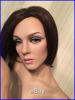 Vintage Adel Rootstein Female Mannequin Tracy Leigh TL6 Makeup By Dashndazzle