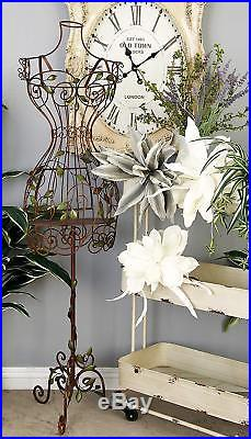Vintage Dress Form Stand Mannequin Wire Frame Manikin Metal Iron Display Gift
