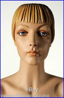 Vintage Female Mannequin Blouse Form Decter's Roxy NEW Vaudeville Mannequins