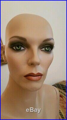 Vintage Female Mannequin custom refurb Look @ Joan FREE SHIPPING