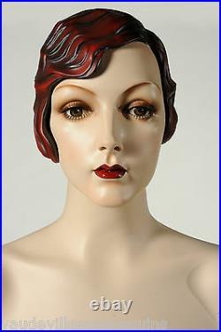 Vintage Female Mannequin for Sale Decter's Isadora NEW Vaudeville Mannequins