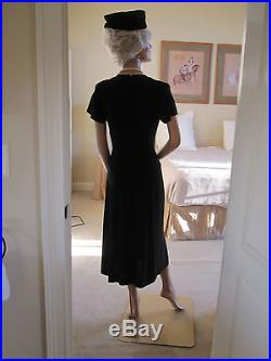 Vintage Full Size Body Female Mannequin Store Display Women