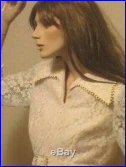 Vintage Full Size Female Mannequin, High Quality (Hindsgaul)