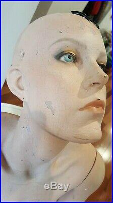 Vintage GRENEKER Mannequin Female back pose Realistic