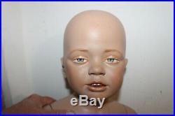 Vintage Mannequin Infant Baby Realistic Model