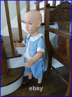 Vintage Mid Century Modern Department Store Full Body Child Boy/Girl Mannequin