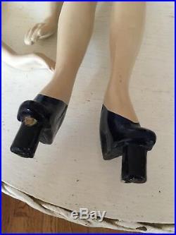 Vintage Miniature Joannes Fashion Design Mannequin Latexture Student Dress Form