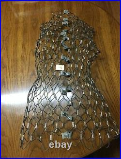 Vintage My Double Dress Form Metal Wire Adjustable