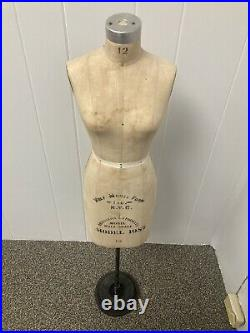 Vintage Wolf NYC Half Scale Dress Form model 1987