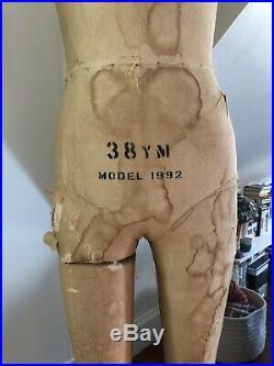 Vintage / antique Modern Model Forms man dress form / mannequin 38YM Model 1992