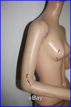 Vtg D. G. Williams Full body mannequin 1940's 50's woman flapper art deco 4 piece
