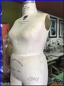 WOLF Form 20, 2001 Dress form, Dummy, Mannequin Plus Size, women dressform
