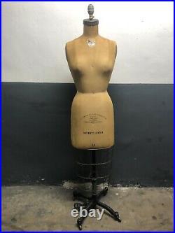 WOLF Ladies Dress Form 1954 Size 11 36 Chest Uniform Shop Brooklyn Navy Yard