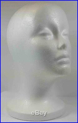 Wig Styrofoam Head Foam Mannequin Display 10.5 (6pcs)