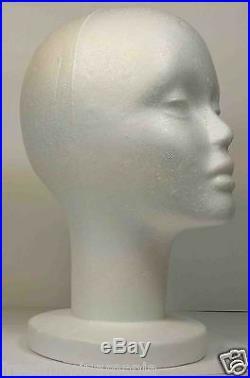 Wig Styrofoam Head Foam Mannequin Display 12 (12pcs)