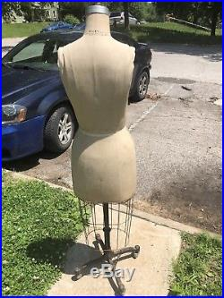 Wolf Dress Form Mannequin with Cage Model 1987 Size 10 (excellent authentic)