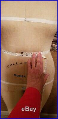 Wolf Dress Form Model 1992 Size 16 Mannequin Petite Woman