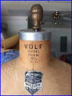Wolf Form Female Form With Shoulder Caps Size 16 1967