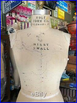 Wolf Form, Missy Sz 10, Model 1995, Professional dress form Made in USA